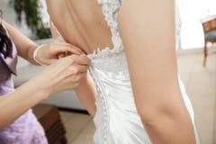 Huwelijkskleding stock foto's