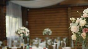 Huwelijkslijst bij het Uitstekende Banket stock video