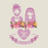 Huwelijksontwerp Royalty-vrije Stock Foto