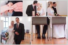 Huwelijkspaar Stock Foto's