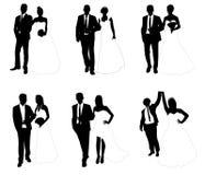 Huwelijksparen Stock Afbeeldingen