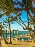 Huwelijksplaats op het Strand van Key West FL 11/24/2017 royalty-vrije stock afbeeldingen