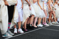 Huwelijksras, Belgrado Stock Foto