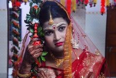 Huwelijksrituelen in India Royalty-vrije Stock Foto