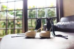 Huwelijksschoenen Royalty-vrije Stock Foto's