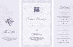 Huwelijksuitnodiging Royalty-vrije Stock Afbeelding