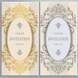 Huwelijksuitnodiging of kaart met abstracte achtergrond Stock Foto's