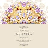 Huwelijksuitnodiging of kaart met abstracte achtergrond Royalty-vrije Stock Afbeeldingen