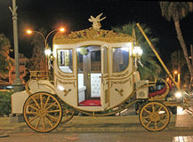 Huwelijksvervoer royalty-vrije stock fotografie