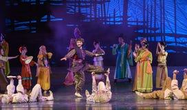 "Huxuan dance-Dance drama ""The Dream of Maritime Silk Road"" Stock Image"