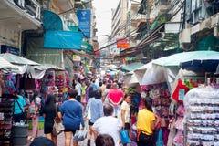 Huya del mercado, Bangkok fotografía de archivo