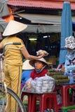 Huya del mercado en Hoi An imagen de archivo libre de regalías