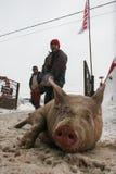 Huya del mercado en invierno fotos de archivo libres de regalías