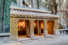 Huyen Khong Cave with shrines, Marble mountains,  Vietnam Stock Photography