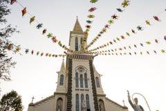 Huyen Sy Church en Ho Chi Minh City, Vietnam Images stock