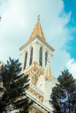 Huyen Sy Church in Ho Chi Minh City  Saigon Stock Photography