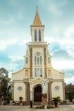Huyen Sy Church i Ho Chi Minh City (Saigon) Arkivbild