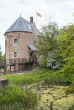 Huys Dever castle in Lisse, Noord Holland, The Netherlands Royalty Free Stock Images