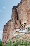 HUZHU, CHINA - Jul 6 2014: White Horse Temple(Baimasi). a famous Royalty Free Stock Image