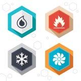 HVAC Θέρμανση, εξαερισμός και κλιματισμός απεικόνιση αποθεμάτων