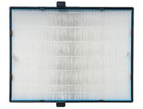 HVAC系统的高效率空气过滤器 在白色 图库摄影