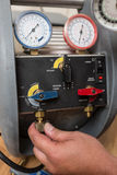 Инструменты HVAC ремонтника разнорабочего Стоковое Изображение RF