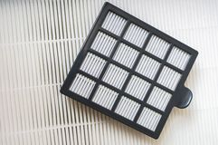 HVAC air conditioning filters royalty free stock photos