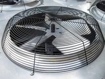 HVAC Condenser Fan Royalty Free Stock Image