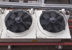 HVAC device. An heating ventilation and air conditioning device Royalty Free Stock Image