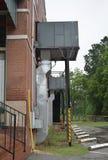 HVAC jednostka Wspinająca się w powietrzu fotografia stock