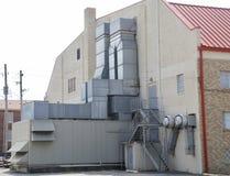 HVAC jednostki Przemysłowy Handlowy stopień Fotografia Royalty Free