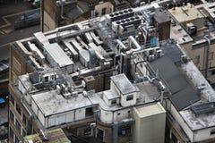 HVAC-klimaatcontrole royalty-vrije stock fotografie