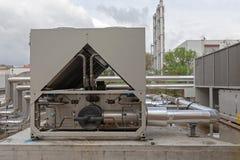 HVAC-materiaal royalty-vrije stock fotografie