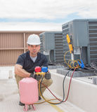 HVAC Technician Charging Unit stock photos