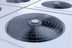 HVAC units close up Stock Image