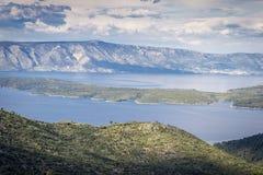 hvar νησί της Κροατίας Στοκ φωτογραφία με δικαίωμα ελεύθερης χρήσης