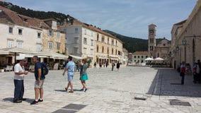 hvar πόλη της Κροατίας Στοκ Φωτογραφίες