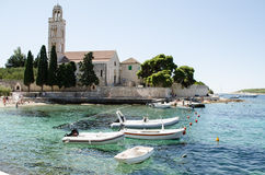 Hvar. City of Hvar, Hvar Island Croatia Royalty Free Stock Photo