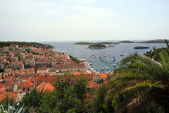 Hvar in Croatia Stock Photography