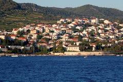 hvar croatia arkivbilder