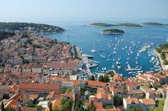Hvar croatia imagen de archivo libre de regalías