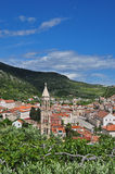 Hvar, Croatia, from above Royalty Free Stock Photography