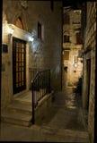 Hvar in Croatia at night Royalty Free Stock Image