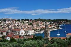 Hvar, Croatie Images libres de droits