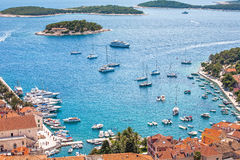 Hvar harbor Royalty Free Stock Photography