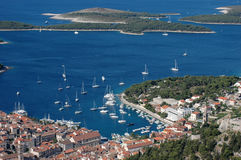 Hvar and Hell islands Stock Photo