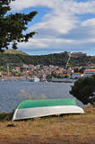 Hvar, il Croatia e la sua fortezza Fotografia Stock