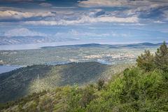 Hvar Insel, Kroatien stockbilder