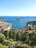 Hvar island in Adriatic Sea, Croatia Stock Photos