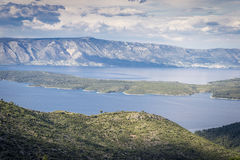 Hvar island, Croatia. Beautiful nature and landscape from Hvar island, Croatia Royalty Free Stock Photography